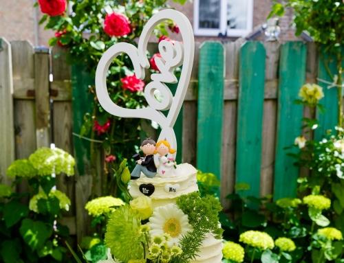 Intieme bruiloft in eigen tuin | Voerendaal